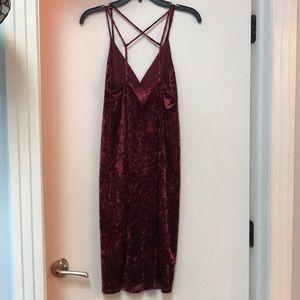 Forever 21 Dresses - Crushed velvet dress small